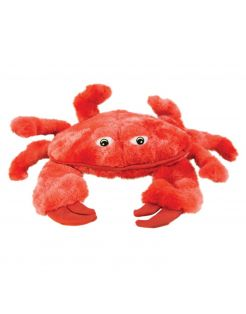 Kong Soft Seas Crab - Hondenspeelgoed - Rood Small