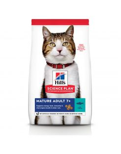 Hill's Feline Mature Adult - Kattenvoer - Tonijn 1.5 kg