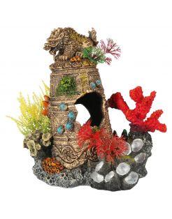 Aqua Della Gezonken Artefact - Aquarium - Ornament - 16.5x12.5x17.8 cm