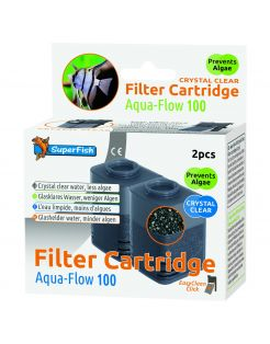 Superfish Aquaflow 100 Filter Crystal Clear Cartridge - Filtermateriaal -