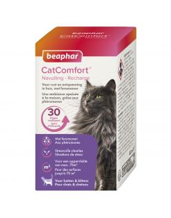 Beaphar Catcomfort Navulling Verdamper - Anti stressmiddel - Eend 48 ml Navulling