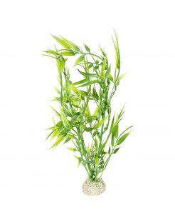 Aqua Della Decor Plant Bamboo - Aquarium - Kunstplant - 27 cm Groen