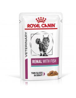 Royal Canin Veterinary Diet Renal Tuna Wet - Kattenvoer - 12x85 g