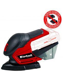 Einhell Accu Multischuurmachine - Electrisch Gereedschap - 0.84 kg Rood Zwart Wit