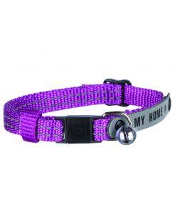 Trixie Halsbandje Met Reflecterende Adreslabel - Kattenhalsband - 21 cm Multi-Color