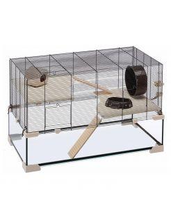 Ferplast Knaagdierenkooi Karat 100 - Dierenverblijf - 98.5x50.5x61.5 cm