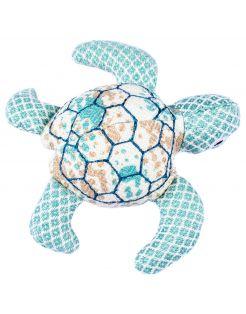 Resploot Karetschildpad - Hondenspeelgoed - 22 X 24 X 6 cm Multi-Color