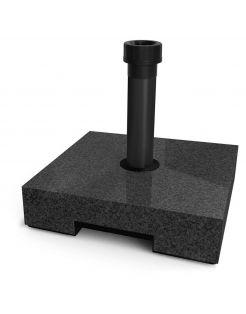 Helcosol Parasolvoet Tegel Graniet-Look - Tuinmeubelen - 40x40x10 cm 30 kg