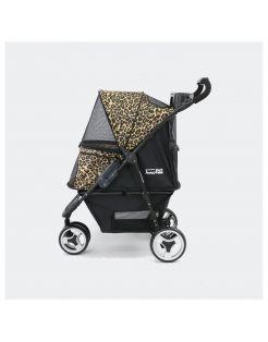 Innopet Honden Buggy Cheetah - Hondentrolley - 94x51x102 cm 7.1 kg Zwart Geel Bruin