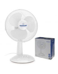 Homestyle Ventilator Tafel Model - Ventilator - Ø30 cm Wit