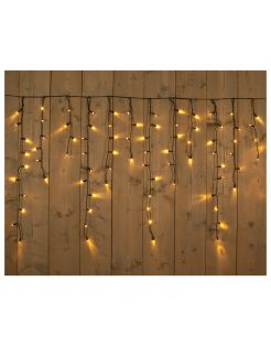 Cbd Connectable Icicle - Kerstverlichting - 400x100 cm 880 g Warm Wit 200 led