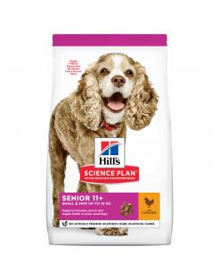 Hill's Canine Senior 11plus Small Mini - Hondenvoer - Kip 1.5 kg