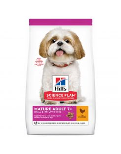 Hill's Canine Mature Adult Small & Mini - Hondenvoer - Kip 1.5 kg