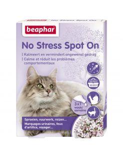 Beaphar No Stress Spot On Kat - Anti stressmiddel - 3 pip