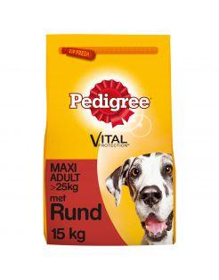 Pedigree Adult Maxi - Hondenvoer - Rund Vlees 15 kg
