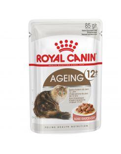 Royal Canin Ageing +12 In Gravy - Kattenvoer - 12x85 g