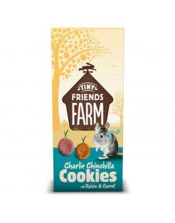 Supreme Charlie Chinchilla Cookies - Knaagdiersnack - Bosbessen Wortel 120 g