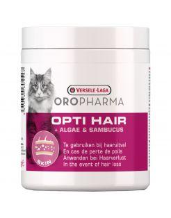 Versele-Laga Oropharma Opti Hair Cat Tegen Haaruitval - Voedingssupplement - Huid - Vacht - 130 g Granules
