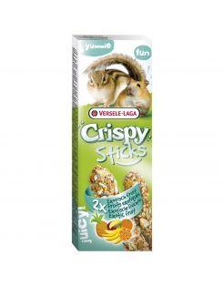 Versele-Laga Crispy Sticks Hamster&Eekhoorn - Knaagdiersnack - Fruit 2x55 g