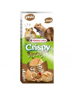 Versele-Laga Crispy Biscuit Knaagdier Noten A 6 - Knaagdiersnack - Noten 70 g
