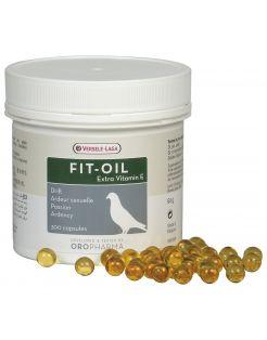 Versele-Laga Oropharma Fit-Oil Levertraanparels Met Vitamine E - Duivensupplement - 300 tab