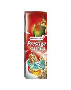Versele-Laga Prestige Sticks Gropar Exotisch Fruit - Vogelsnack - 2x70 g