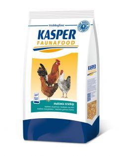 Kasper Faunafood Multimix Krielkip - Kippenvoer - 4 kg