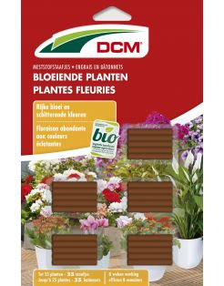 Dcm Meststofstaaf Bloeiende Plant - Siertuinmeststoffen - 25 stuks