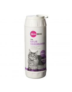 Beaubeau Kattenbak Geurverdrijver - Kattenbakreinigingsmiddelen - 750 g Lavendel