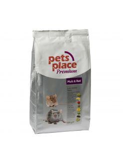 Pets Place Rat/Muis Luxe Menu Premium - Rattenvoer - 800 g