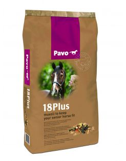 Pavo Senior 18plus - Paardenvoer - 15 kg