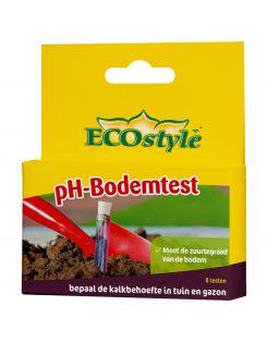 Ecostyle Ph-Bodemtest - Potgrond Turf - 8 stuks