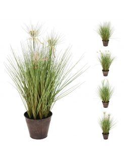 Homestyle Sprietplant In Pot - Kunstplanten - 60 cm 4 Assorti