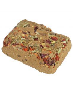 Jr Farm Mineralensteen Leem En Zaden - Supplement - 3 x 9 x 20 cm 75 g
