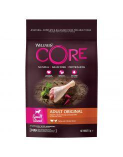 Wellness Core Grain Free Dog Small Breed Adult Original - Hondenvoer - Kalkoen Kip 5 kg
