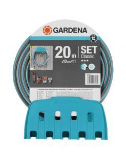 Gardena Classic Muurhouder Met Slang 13 Mm (1/2 Inch) - Slang - 20 m