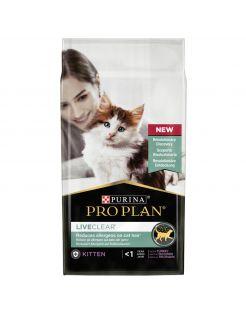 Pro Plan Cat Liveclear - Kitten-Kattenvoer - Kalkoen 1.4 kg