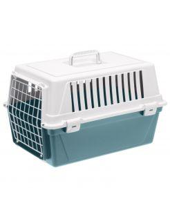 Adori Transportbox - Kattenvervoersbox - 48x32.5x29 cm Petrol Wit