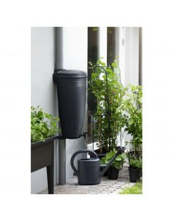 Elho Green Basics Raincatcher Living Black - Regenwatertonnen - 35 l Zwart