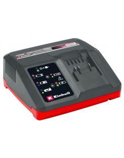 Einhell Snellader Power X-Change - Electrisch Gereedschap - Rood Zwart 18v 4a