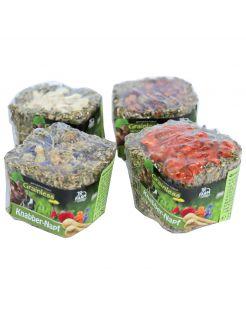 Jr Farm Grainless Knabbelbak Assorti - Ruwvoer - 5 x 5 x 5.5 cm 75 g