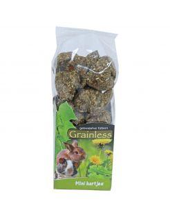 Jr Farm Grainless Mini Hartjes - Knaagdiersnack - 3.6 x 5.7 x 19 cm 150 g