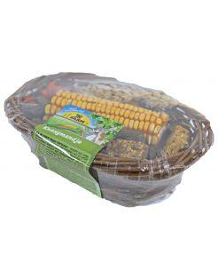 Jr Farm Knaagmandje - Knaagdiersnack - 13.5 x 20 x 5.5 cm 150 g