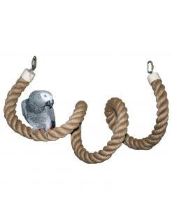 Homestyle Vogelspeelgoed Touw - Vogelspeelgoed - 200x4 cm Xxl