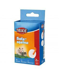 Trixie Zoutliksteen Met Houder - Supplement - 2x54 g