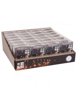 Homestyle Zilverdraad Verlichting Bo Ip44 - Verlichting - Warm Wit 20 led Op Batterij