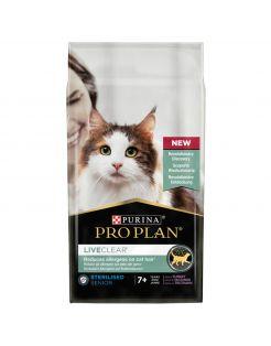 Pro Plan Cat Liveclear Sterilised Senior - Kattenvoer - Kalkoen 1.4 kg