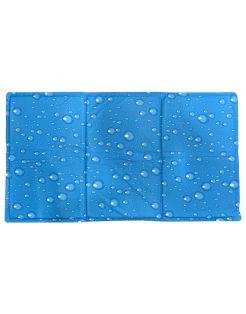 Pawise Koelmat Waterdrop - Hondenverkoeling - 90x50 cm Blauw