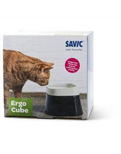 Savic Ergo Cube Water - Kattendrinkbak - 21x22x17.5 cm Zwart Assorti