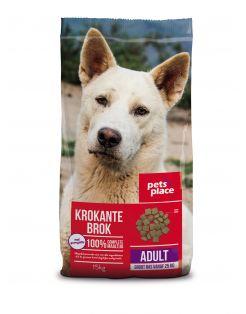 Pets Place Adult Maxi Krokante Brokken - Hondenvoer - Gevogelte Vlees 15 kg